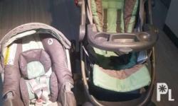 Im selling my baby graco stroller and carseat/carrier