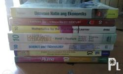 For sale grade 10 books 1. Pluma 1 -200 may name sa