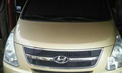 Hyundai Grand Starex Year model: 2011 Color: Gold