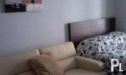 Fully furnished Studio unit with balcony located near