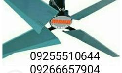hvls industrial fan energy efficient economical direct