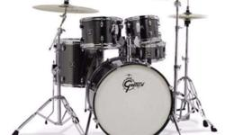 "Bass Drum: 18"" x 22"" Tom: 7"" x 10"" Tom: 8"" x 12"" Floor"