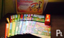 Complete sets of talking english (20 books) plus free