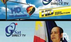 Gsat Hd satellite cable tv has 115 premium channels ,