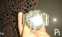 Gshock ga-100cm camou. With tin can and box. No issues