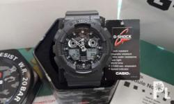 Authentic/Legit/Original Gshock ga100cf-8adr Matte gray