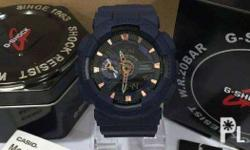 Authentic G-Shock for sale Brand new Navy Blue Taguig