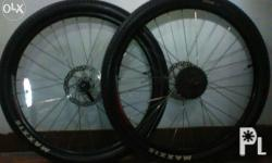 26er stock Wheelset from authentic GT Avalanche 4.0 XC