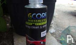 GCORE-WASH easy and the fastest way to clean, shine and