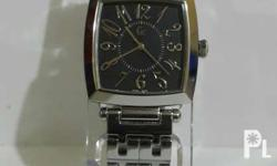 -Authentic analog watch for men -Swiss made -All