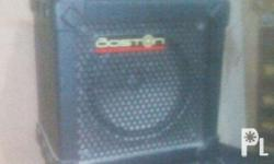 Brand: Boston Model: M6 mini guitar amplifier
