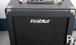 "First Act Guitar Amp 220 volts from USA 12""x12""x7"""