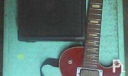 for sale electric guitar less paul copy and stagg ampli