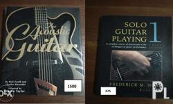 Guitar books in good condition. Prices as shown in pics
