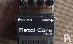 For sale: BOSS ML-2 (Metal Core) Guitar Distortion