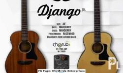 Brand New D Django Jr Guitars On Sale FB Page Rhythmix
