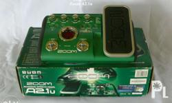 Guitar Effect Pedals � New � Used A) Zoom A2.1u