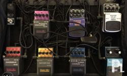 Guitar Effects Bundle- Plug and Play 08 Stomp Boxes