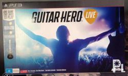 GUITAR HERO LIVE FOR PS3 INCLUDES: Guitar Hero Live