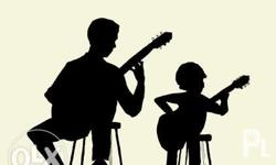 Learn how to play the guitar Male teacher P500 per
