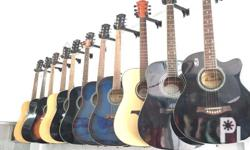 Brand New High Quality Guitars On Sale Prices Starts At