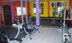 complete gym equipments guaranteed 2 months used... for