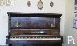 For Sale: Haake Hannover Piano with Candelabra and