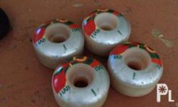 Habitat Spit Fire Wheels. Used only once for trial.