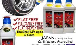 TIRE SEALANT FOR ALL TYPES OF TIRE HACHI Tire Sealant
