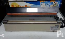 its a big help to your business HAKO SEALER model no.