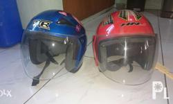 Used half face helmets With ICC stickers In good