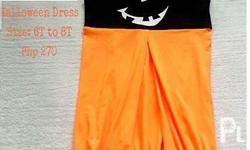 For sale brand new Halloween dress 6T Can be worn as a