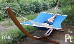 Outdoor / Indoor Solid Wood Single person Hammock