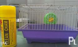 Hamster cage: Kasama na po ung wheel Good for 2hamster