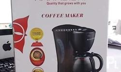 Brand New Hanabishi Coffee Maker Model HCM-10B. 4 to 6