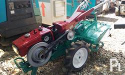 Hand tractors 1 cylinder diesel engine 5 ps 6 forward 2