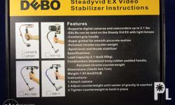 From left to right: 1-2. DEBO Handheld Video Stabilizer