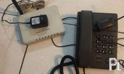 for sale telphone handset with router . chek at