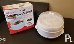 Handy Gourmet Microwave Steamer 2-Tier Received as