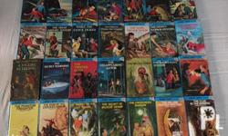 For sale as set only 49 Hardy boys mystery books Very