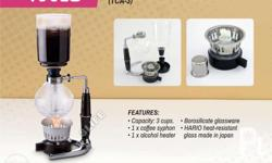 The Syphon Technica, also known as a �vac-pot�, has