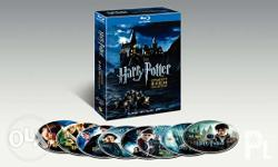 Harry Potter complete 8-films collection for sale.