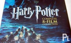 Harry Potter 8 disc dvd gift set complete 8 film