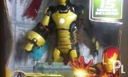 Hasbro 15 inch MARVEL IRONMAN 3 Action Figure LIGHT and