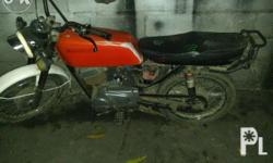 Red, With Papers, Expired July 2015, running condition,