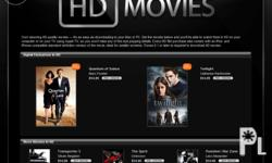 High Quality HD movies in 1080p or 720p file format.