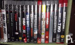 Swap 2 Games or 3 for PC HDD 500 GB or offer. JUST PME