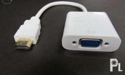 HDMI to VGA Converter - P345 With Sound/Audio Cable -