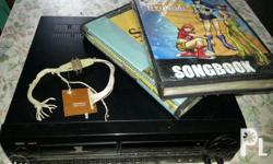 HDT primier 98 videoke vcd player w/ 2 songbooks,remote