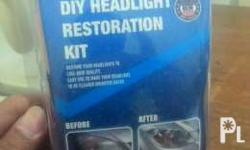 Diy headlight restoration kit Restore your headlight to